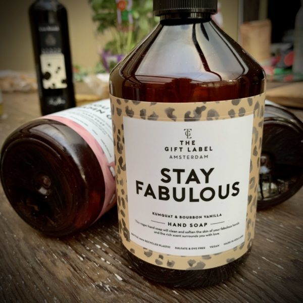 stay fabules, hand soap